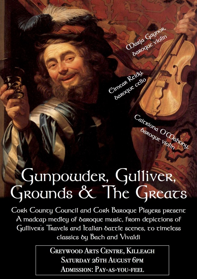 Cork Baroque @ Greywood Arts