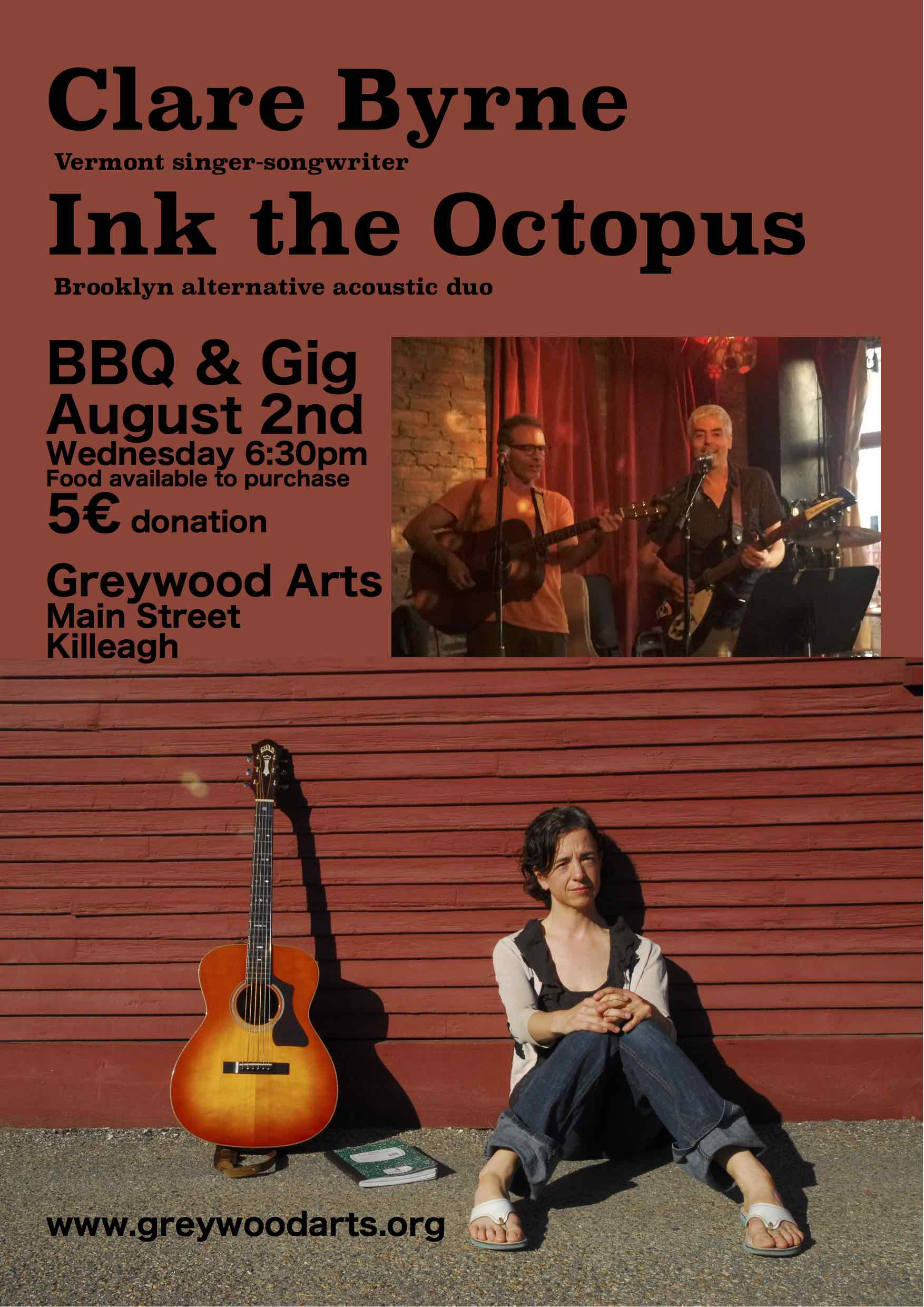 Clare Byrne Ink the Octopus Poster Web