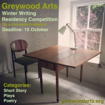 Greywood Arts Writers Residency