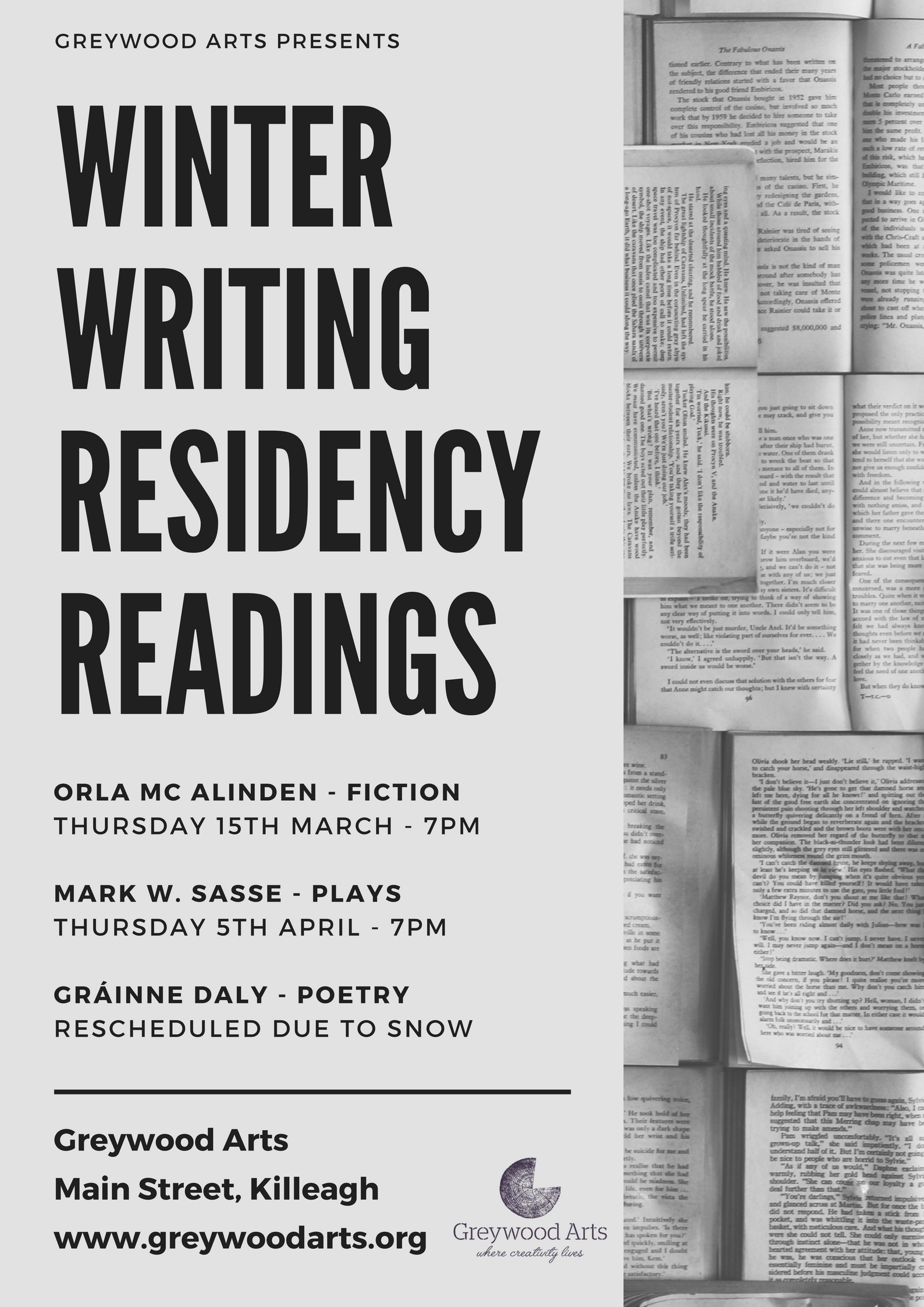 winter writing res