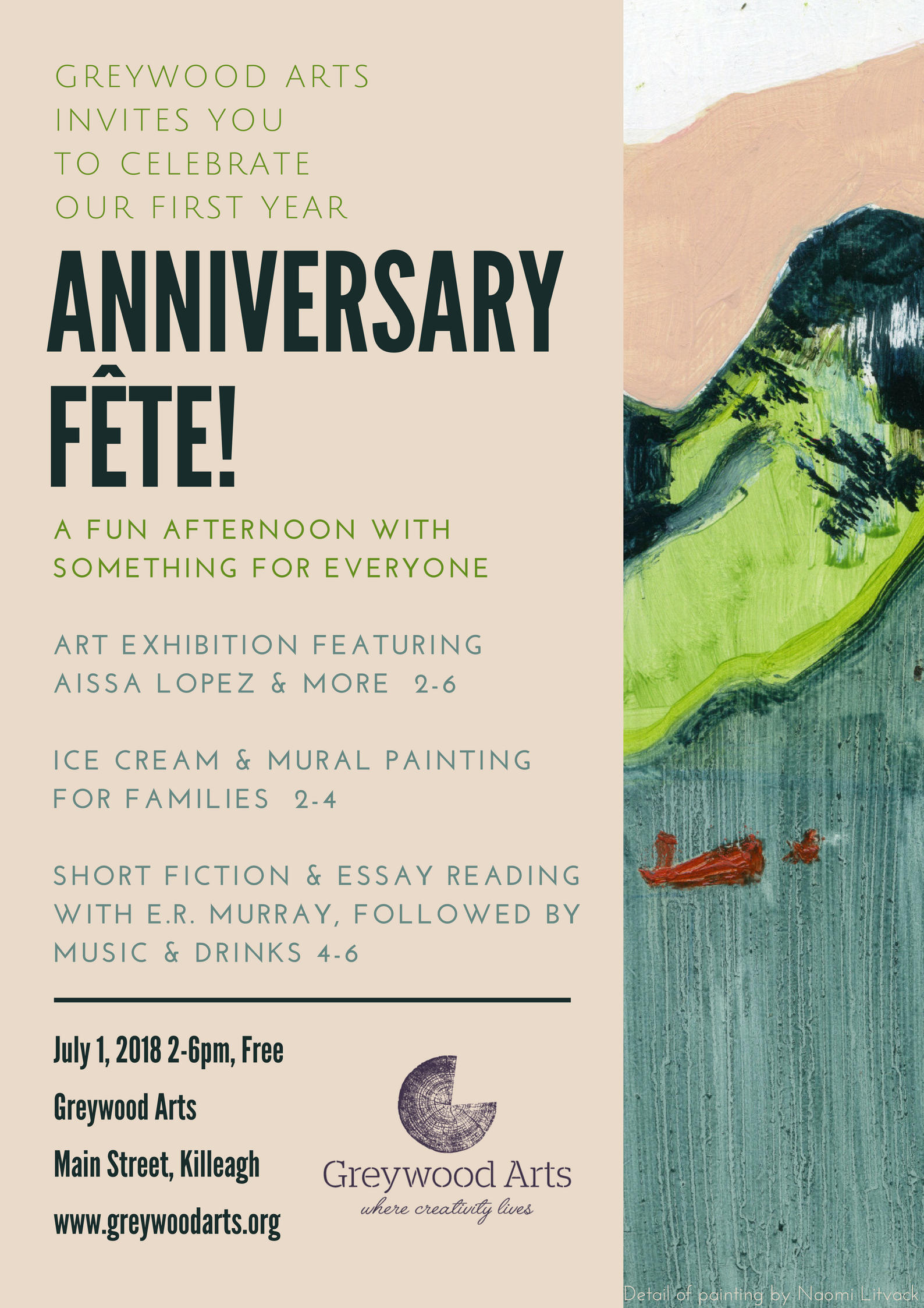 Anniversary Fete Poster