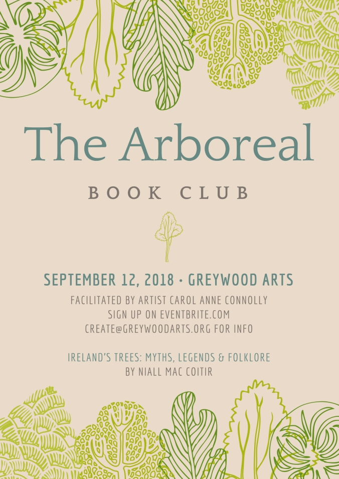 Arboreal Book Club Poster SEPT