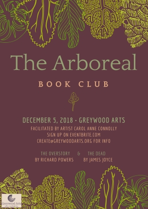Arboreal Book Club Poster Dec
