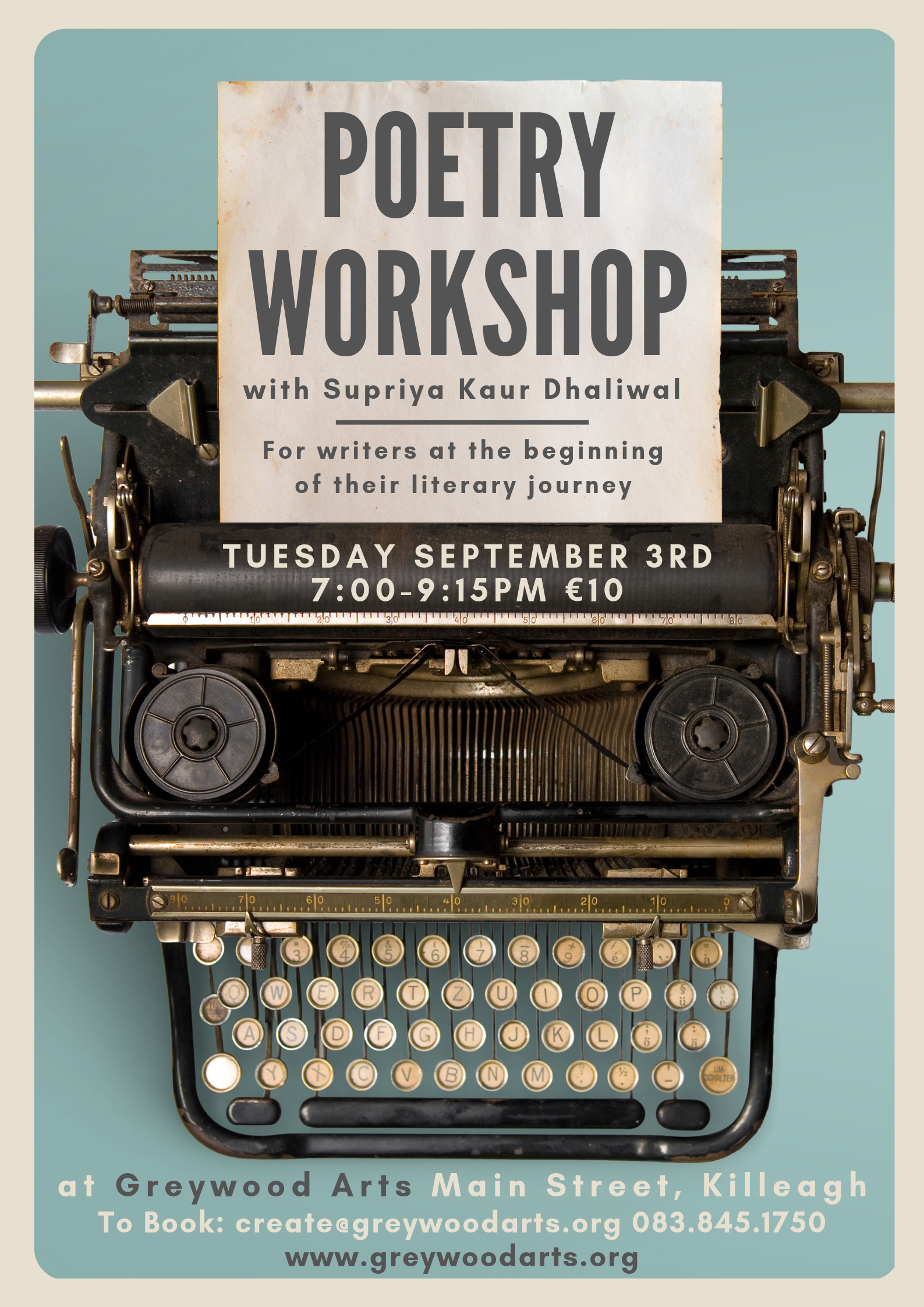 Poetry workshop web
