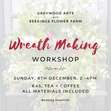 Wreath making workshop- insta